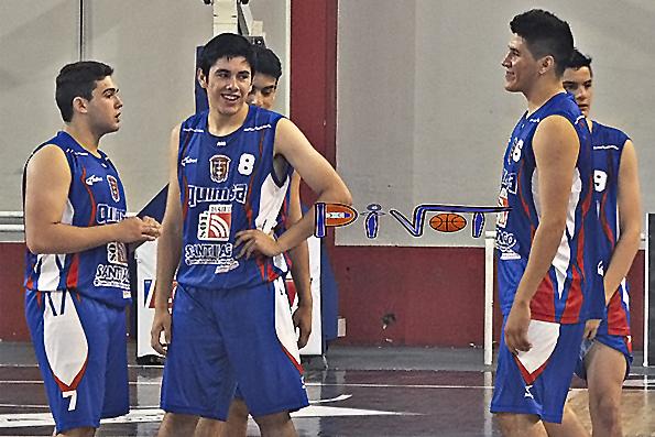 LOCAL: Sportivo Colón - Quimsa  (Infantiles-Juveniles)