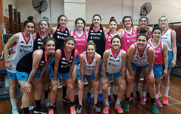 Sudamericano U15 Femenino: Argentina tiene sus 12