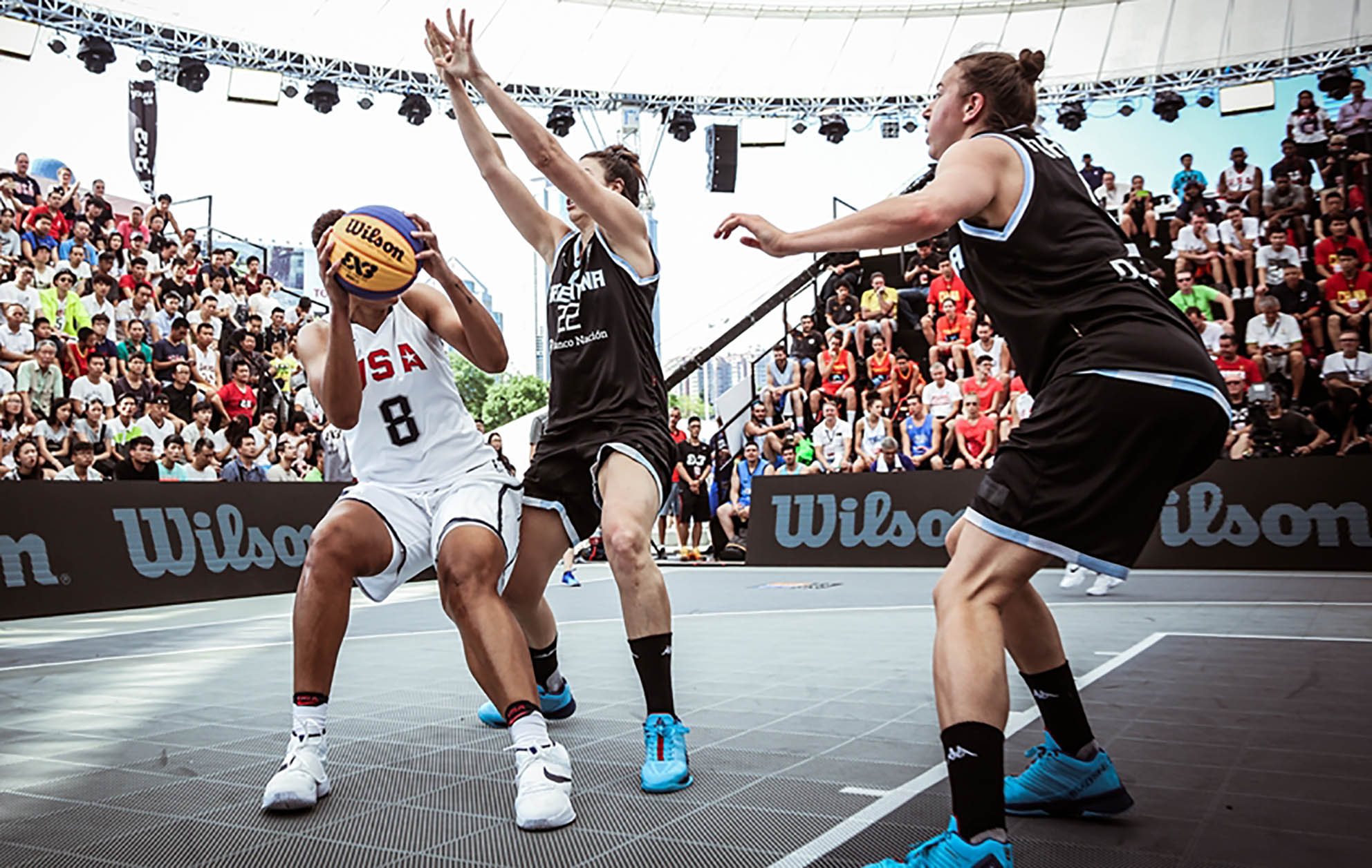 Mundial de 3×3 Femenino: Argentina cae  ante EEUU