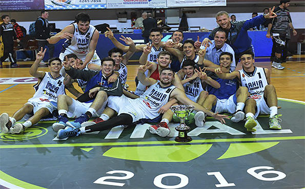 Bahía Basket bicampeón de LDD